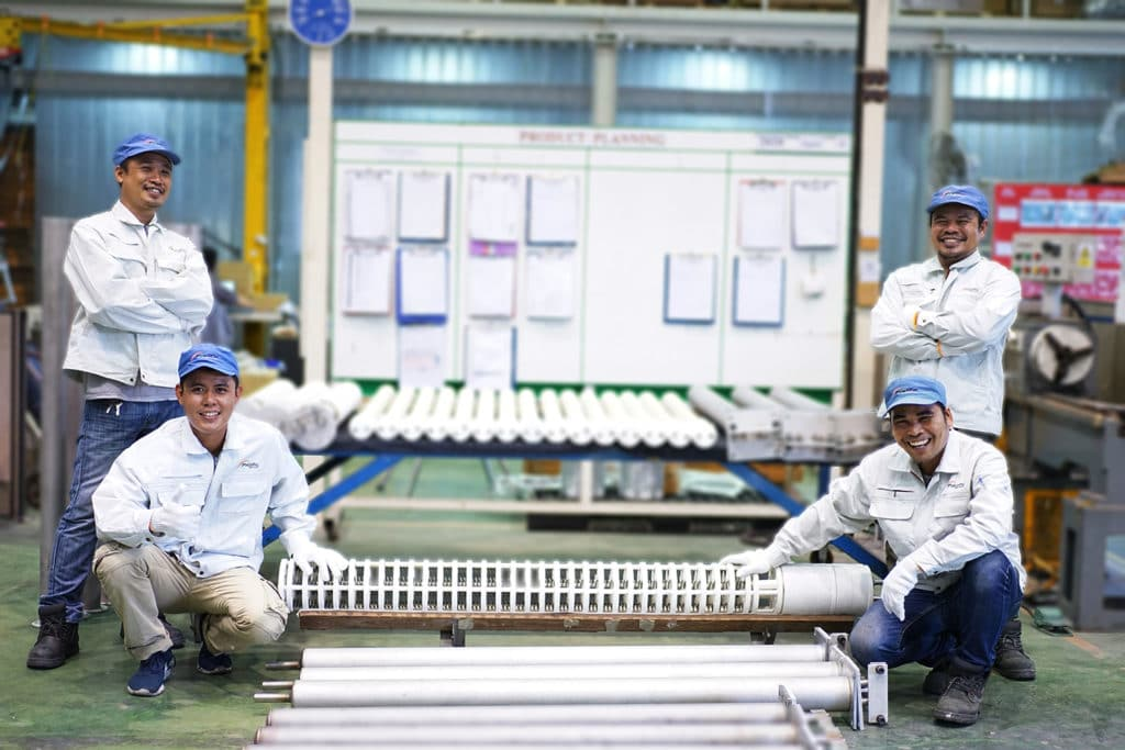 PHI Radiant Heater Production